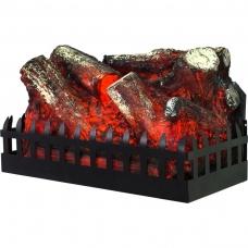 AFLAMO LOG įmontuojamas elektrinis židinys be šildymo funkcijos