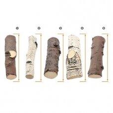 AKOWOOD ID04 dekoratyvinės keramikinės malkos biožidiniams įvairios