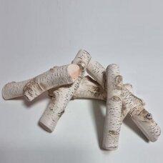 Dekoratyvinės keramikinės beržinės VI malkos biožidiniams
