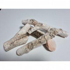 Dekoratyvinės keramikinės beržinės VIII malkos biožidiniams