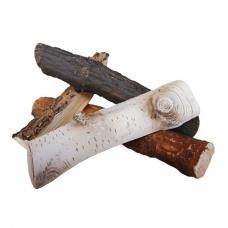 Dekoratyvinės keramikinės malkos biožidiniams įvairios