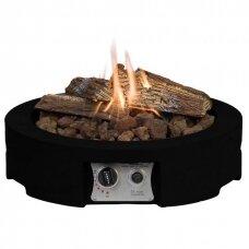 HAPPY COCOONING TABLE TOP ROUND BLACK dujinis lauko židinys
