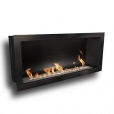 ICON FIRES SLIMLINE FIREBOX RANGE 1650 BLACK biožidinys įmontuojamas