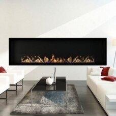 ICON FIRES SLIMLINE FIREBOX RANGE 2000 BLACK biožidinys įmontuojamas